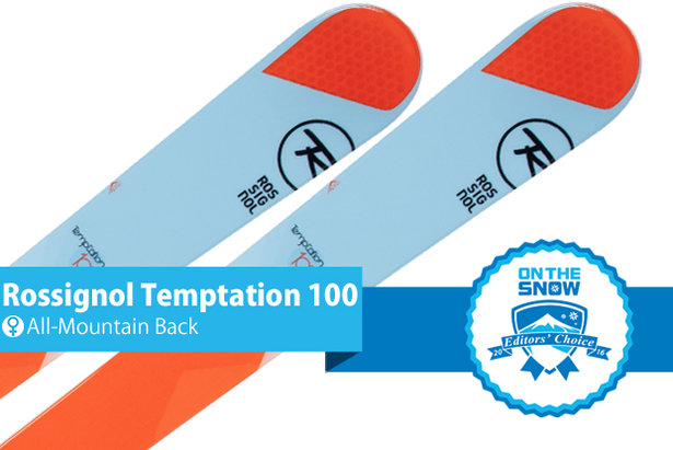 Rossignol Temptation 100, women's AMB Editors' Choice