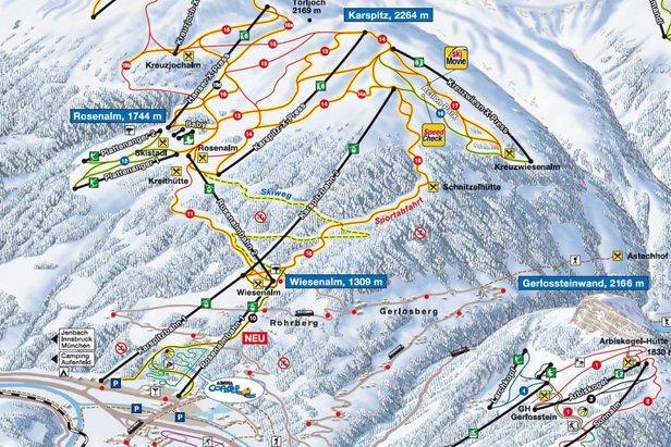 Talabfahrt nach Zell am Ziller/Rohrberg - ©www.zillertalarena.com