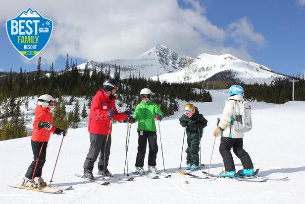 Big Sky ski lesson - ©Michel Tallichet