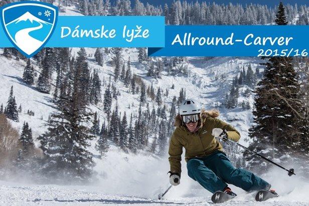 Dámske lyže Allround-Carving 2015/16