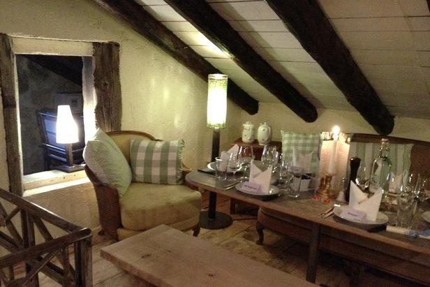 Fine dining at Chez Vrony - ©Chez Vrony
