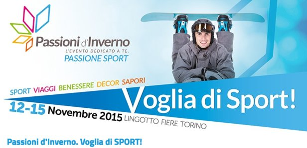 Passioni d'Inverno, dal 12 al 15 Novembre a Lingotto Fiere (Torino)