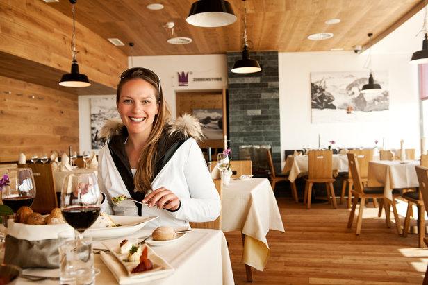 Restaurant Schaufelspitz am Eisgrat - ©Stubaier Gletscher | Andre Schönherr