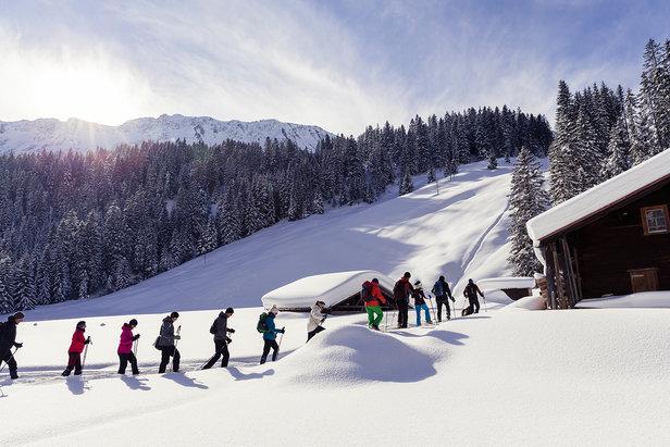 Schneeschuhwandern im Kleinwalsertal - ©Kleinwalsertal