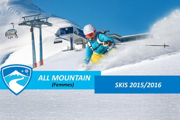 Skis all mountain femmes 2016 - ©mRGB - Fotolia.com