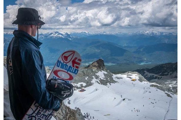 Whistler is testing a pilot program to help preserve Horstman Glacier on Blackcomb Mountain. - ©JP Walker/Whistler Blackcomb
