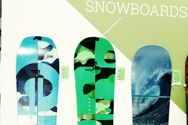 All-Terrain Snowboard Kollektion von Elan  - ©Stefan Drexl