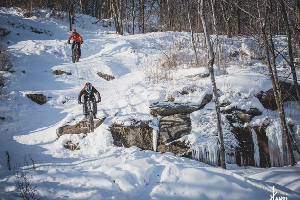 Ski Resorts get into Fat Bike Action - ©Spirit Mountain