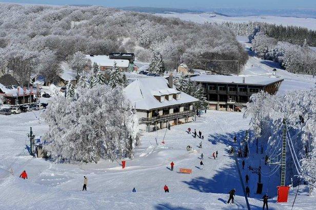 Laguiole en aubrac station de ski