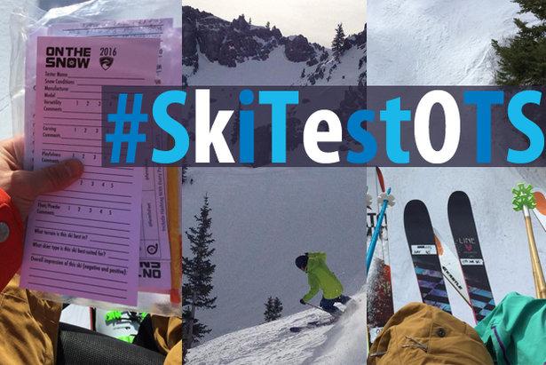 Ski Test social recap - ©OnTheSnow staff