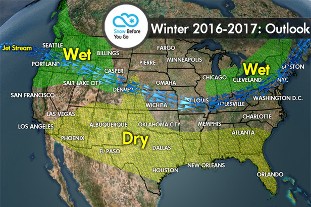 What La Niña Has in Store for Winter 2016/2017 - ©Meteorologist Chris Tomer