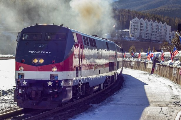 Amtrak Winter Park - ©Carl Frey/Winter Park Resort