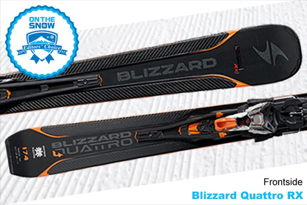 Blizzard Quattro RX, men's 16/17 Frontside Editors' Choice ski. - ©Blizzard