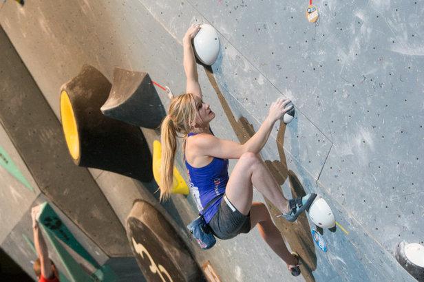 Deutsche gehen beim Boulder-Weltcup in Innsbruck leer aus - ©IFSC   Eddie Fowke