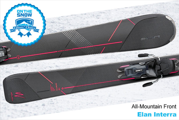 Elan Interra, women's 16/17 All-Mountain Front Editors' Choice ski. - ©Elan