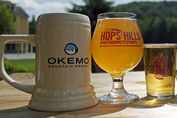 Summer Beer & Wine Festival Guide  - ©Hops in the Hills Brewfest