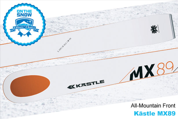 Kästle MX89, men's 16/17 All-Mountain Front Editors' Choice ski. - ©Kästle