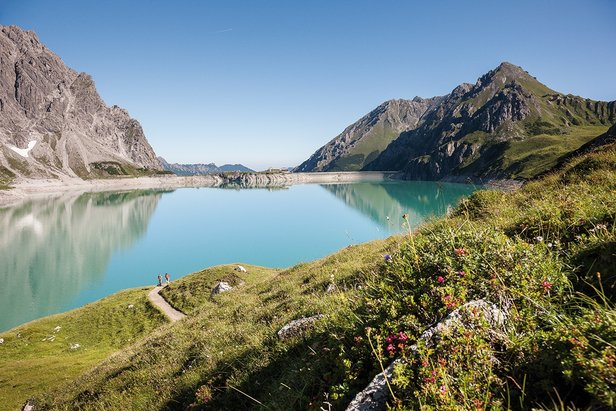 Hiken in de Vorarlberg-regio