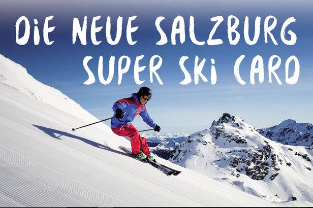 Salzburg Super Ski Card - ©Salzburg Super Ski Card