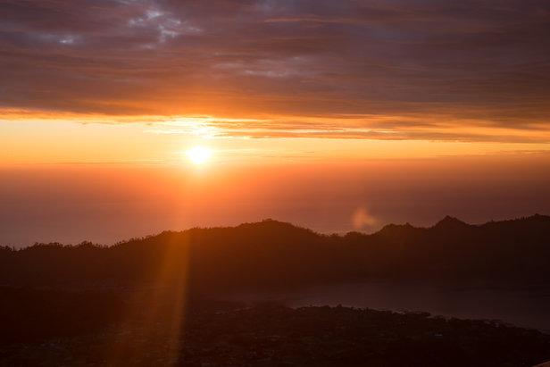 Vulkantrekking auf Bali: Sonnenaufgang auf dem Mount Batur - ©Sebastian Lindemeyer