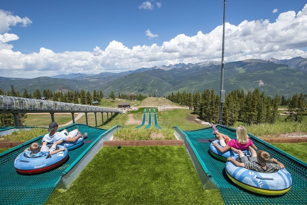 Eagle's Nest summer tubing at Vail. - ©Vail Mountain Resort