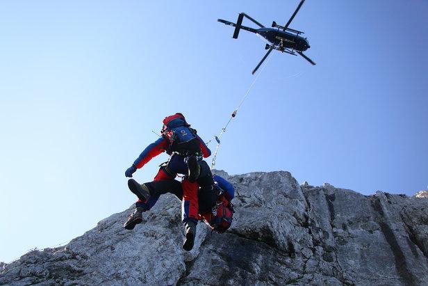 Bergrettung mit Hubschrauber - ©Markus Leitner