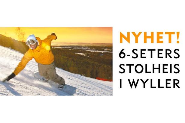 Tryvann - 6seter stolheis i Wyller 677px