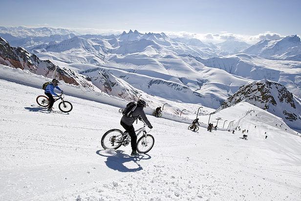 (event) - Sarenne Snow Bike 2012 (Laurent Salino / OT Alpe d'Huez)
