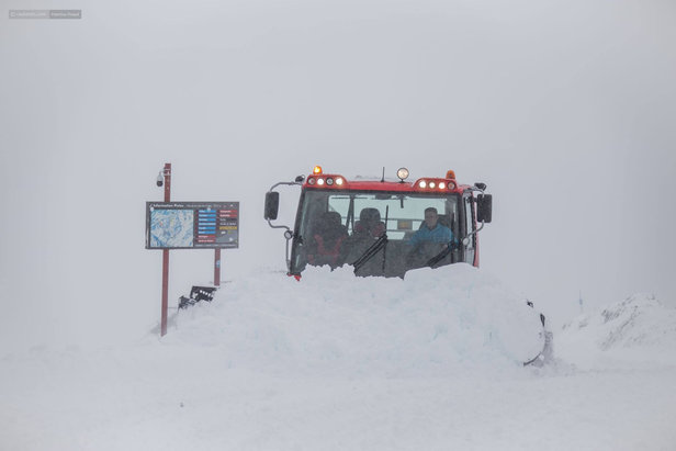 Weerbericht: lenteprik of verse sneeuw - ©Facebook Cauterets