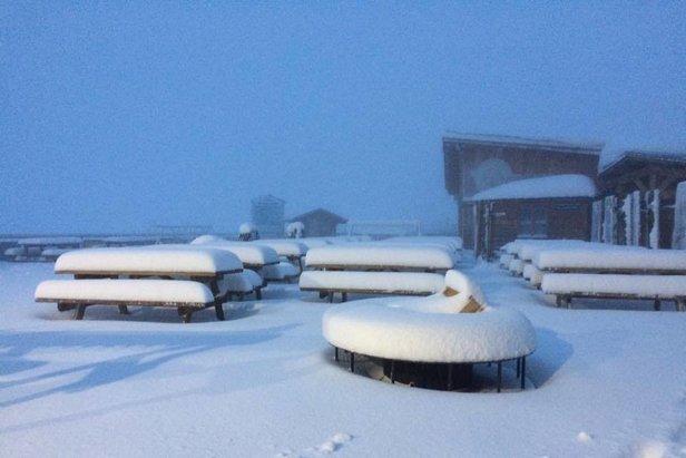Weekly Snow Report 26/10/16 - ©Hubert Debard and yannick bargibant