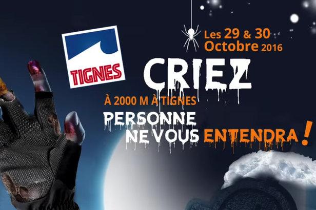 Halloween à Tignes