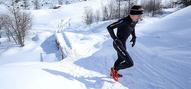 Trail neige