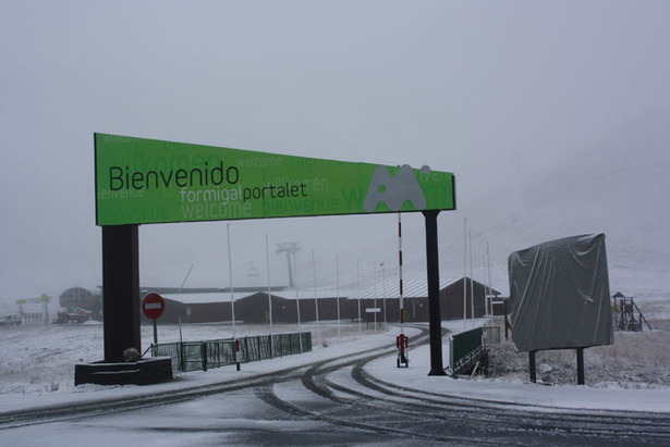 First Snow For Spanish Pyrenees