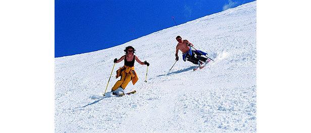 Dolomiti Super-Ski - sunskiing