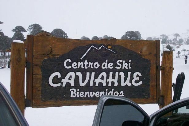 Caviahue ARG Sign
