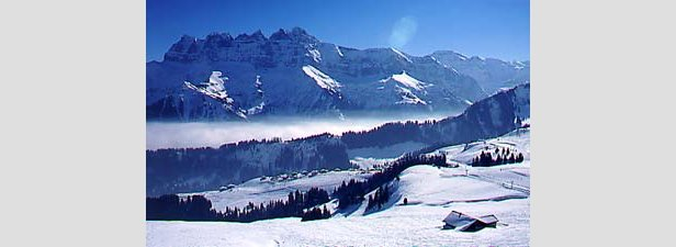 650km of skiable terrain in the Portes du Soleil