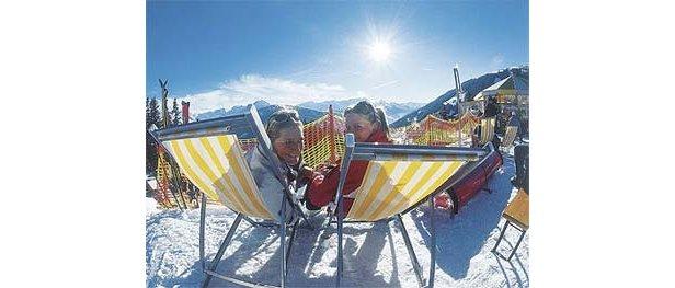 Zell am Zillertal - girls in the sun 350px