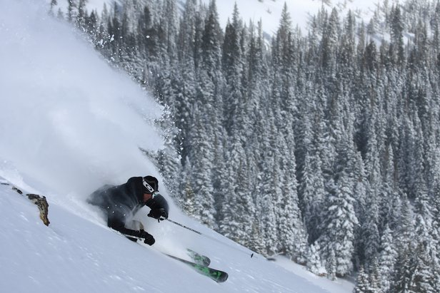 Powder skiing at Breckenridge - ©Liam Doran
