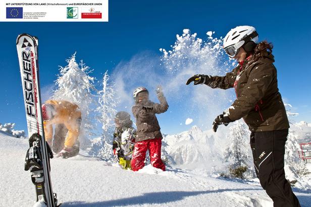 Spaß im Schnee - ©OÖ Tourismus Erber