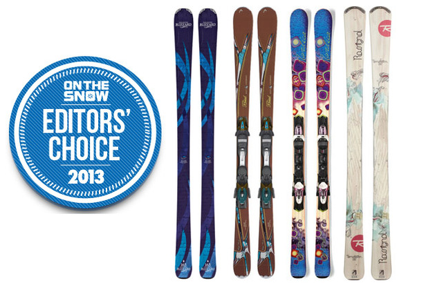 2013 OTS Editors' Choice Women's Frontside Skis