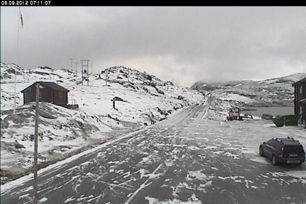 Sognefjellet, webcam