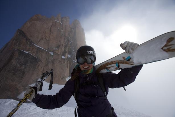 Ingrid Backstrom figure emblematique du ski freeride - ©Adam Clark