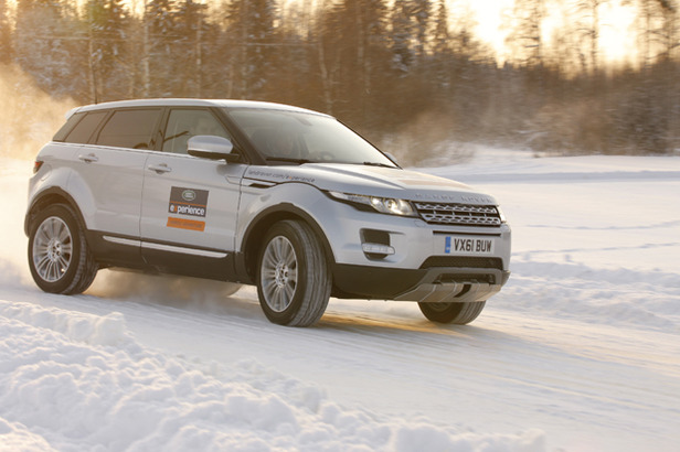 Driving safely during the winter takes more than just slowing down. - ©Range Rover