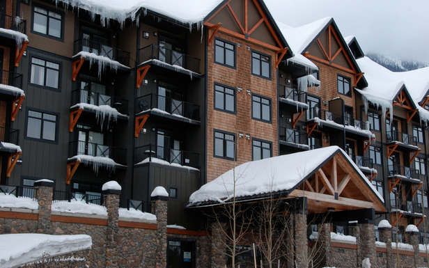 Glacier Mountaineer Lodge at Kicking Horse Mountain Resort. Photo by Becky Lomax. - ©Becky Lomax