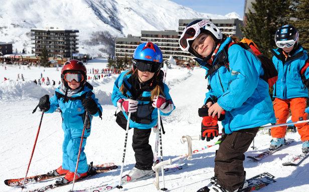 Der Kinder Skiclub in Les Menuires - ©David Andre/Les Menuires