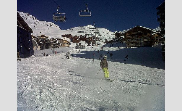 Plenty of ski-in/ski-out accommodation in Val Thorens, France