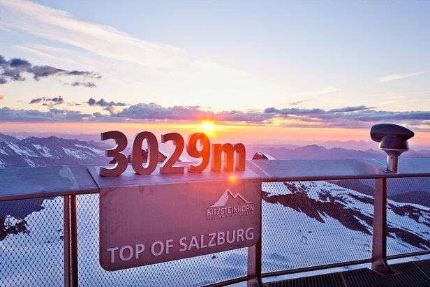 Am Gipfel des Kitzsteinhorns - ©Zell am See-Kaprun Tourismus GmbH