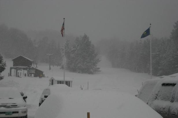 Deep snow at Stowe Mountain Resort, 12/27/2012. - ©Stowe Mountain Resort/Facebook