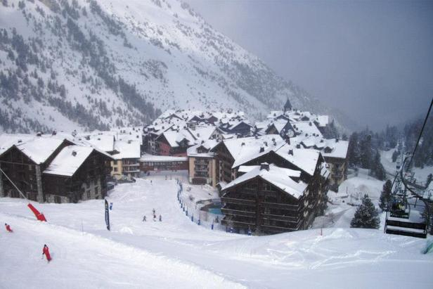 Les Arcs on February 23rd, 2013