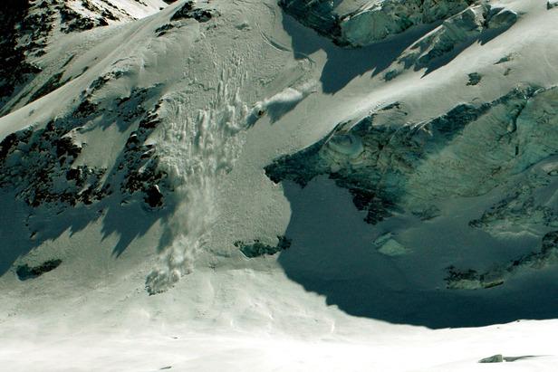 Jeppe på glacier de la girose - ©Thomas Thenander